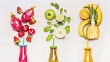 Tester des jus de fruits et de légumestest
